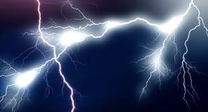 Sehr große Blitze Stockfotografie