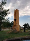 Sehr große Haarnadel in Aserbaidschan Stockbilder