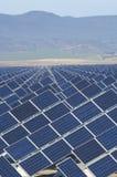 Sehr große Solarstation Lizenzfreies Stockbild