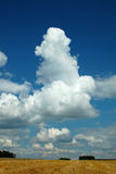 Sehr große Wolken stockfoto