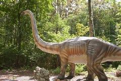 Sehr großer Dinosaurier stockbilder