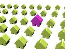 Sehr großes Haus Lizenzfreie Stockfotos