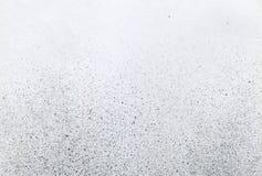 SEHR HÖHEN-Entschließung Tapete mit Spritzpistoleneffekt Schwarze Acrylfarben-Anschlagbeschaffenheit auf Weißbuch Zerstreuter Sch Lizenzfreies Stockbild