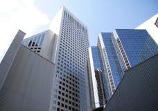 Sehr hohe Gebäude in Calgary Lizenzfreie Stockfotos