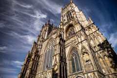 Sehr hohe Kathedrale Stockbild
