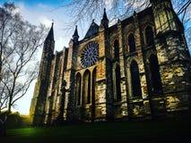 Sehr hohe Kathedrale lizenzfreies stockbild