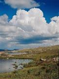 Sehr hohe umulonimbus Wolke in der Weminuche-Wildnis, Colorado Stockbild
