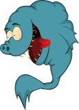 Sehr hungrige Fische Stockfoto