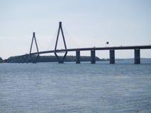 Sehr lange Brücke Stockfotos