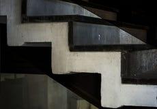 Sehr nette, einzigartige Treppe lizenzfreie stockbilder