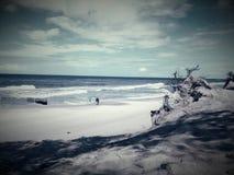 Sehr schöne Ansicht des Meeres Stockfotos