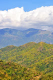 Himmel, Wolke und Berg stockfoto