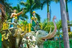 Sehr schöner, moderner und großer Park in Ho Chi Minh-Stadt Lizenzfreie Stockfotografie