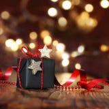 Sehr schönes Weihnachtspaket Stockfoto
