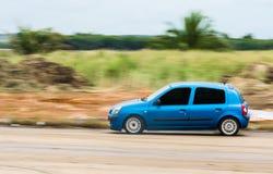 Sehr schnelles Auto Stockfoto