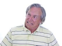Sehr wütender Mann Lizenzfreies Stockfoto