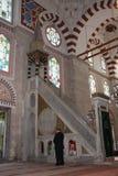 Sehzade-Moschee und Grab, Istanbul, die Türkei Stockbild