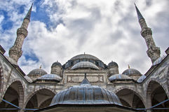 Sehzade Mosque 03. The Sehzade mosque situated in the turkish city of Istanbul Stock Photo