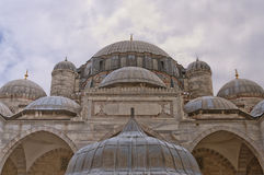 Sehzade Mosque 12. The Sehzade mosque situated in the turkish city of Istanbul Royalty Free Stock Image