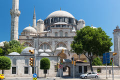 The Sehzade Mosque in Istanbul Royalty Free Stock Images