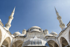 Sehzade Mosque, Istanbul, Turkey. Exterior Shot Of Sehzade Mosque, Istanbul, Turkey Stock Images