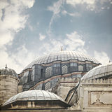 Sehzade mosque Istanbul Turkey. Image of Sehzade mosque in Istanbul, Turkey Royalty Free Stock Image