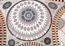 Sehzade Mosque in Istanbul, Turkey Royalty Free Stock Images