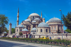 The Sehzade Mosque or Prince`s Mosque Stock Photography