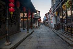----- Sei città del sud del vicolo di Xitang Immagini Stock Libere da Diritti