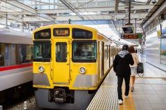 Seibu Shinjuku linje i Tokyo Royaltyfria Foton