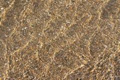 Seichtes Wasser am Strand Lizenzfreies Stockbild