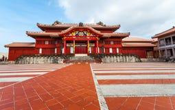 Seiden at Shuri Castle Stock Images