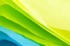 Seidenpapier Lizenzfreies Stockfoto