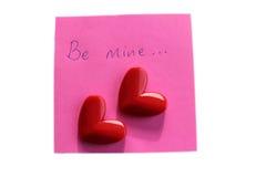 Seien Sie Bergwerk Valentinsgruß Lizenzfreies Stockbild