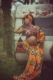 Seien Sie in der Schwangerschaft weiblich lizenzfreie stockbilder