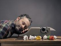 Seien Sie, Geschäftsschlafen kreativ Stockfotografie