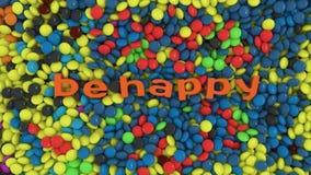 Seien Sie glücklich Stockfotografie