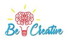 Seien Sie kreativ vektor abbildung