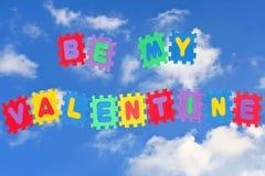 Seien Sie mein Valentinsgruß Stockfotografie