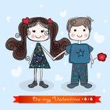 Seien Sie mein Valentinsgruß Stockbilder