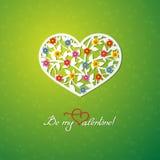 Seien Sie mein Valentinsgruß Lizenzfreies Stockbild