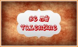 Seien Sie mein Valentinsgruß Stockfoto