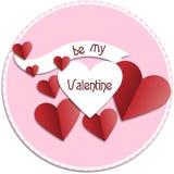 Seien Sie mein Valentinsgruß lizenzfreie stockfotos