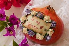 Seien Sie mein Valentinsgruß! Stockfoto