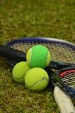 Seien Sie unterschiedlicher Spieler im Tennis Stockbilder
