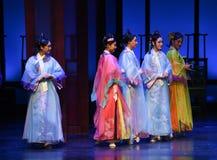 Seien Sie vorwählen-in die Palast-modernen Drama Kaiserinnen im Palast Lizenzfreie Stockfotografie