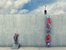 Seien Sie zum Erfolg intelligent lizenzfreie stockfotos