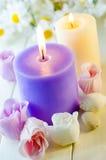 Seife für ein Bad in Form einer Rose Lizenzfreie Stockfotos