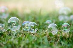 Seife-Luftblasen lizenzfreie stockfotografie