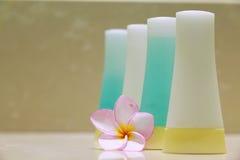 Seife und Orchidee Stockbilder